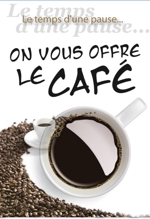 Affiche de l'Exposition : Le café…un grain de folie