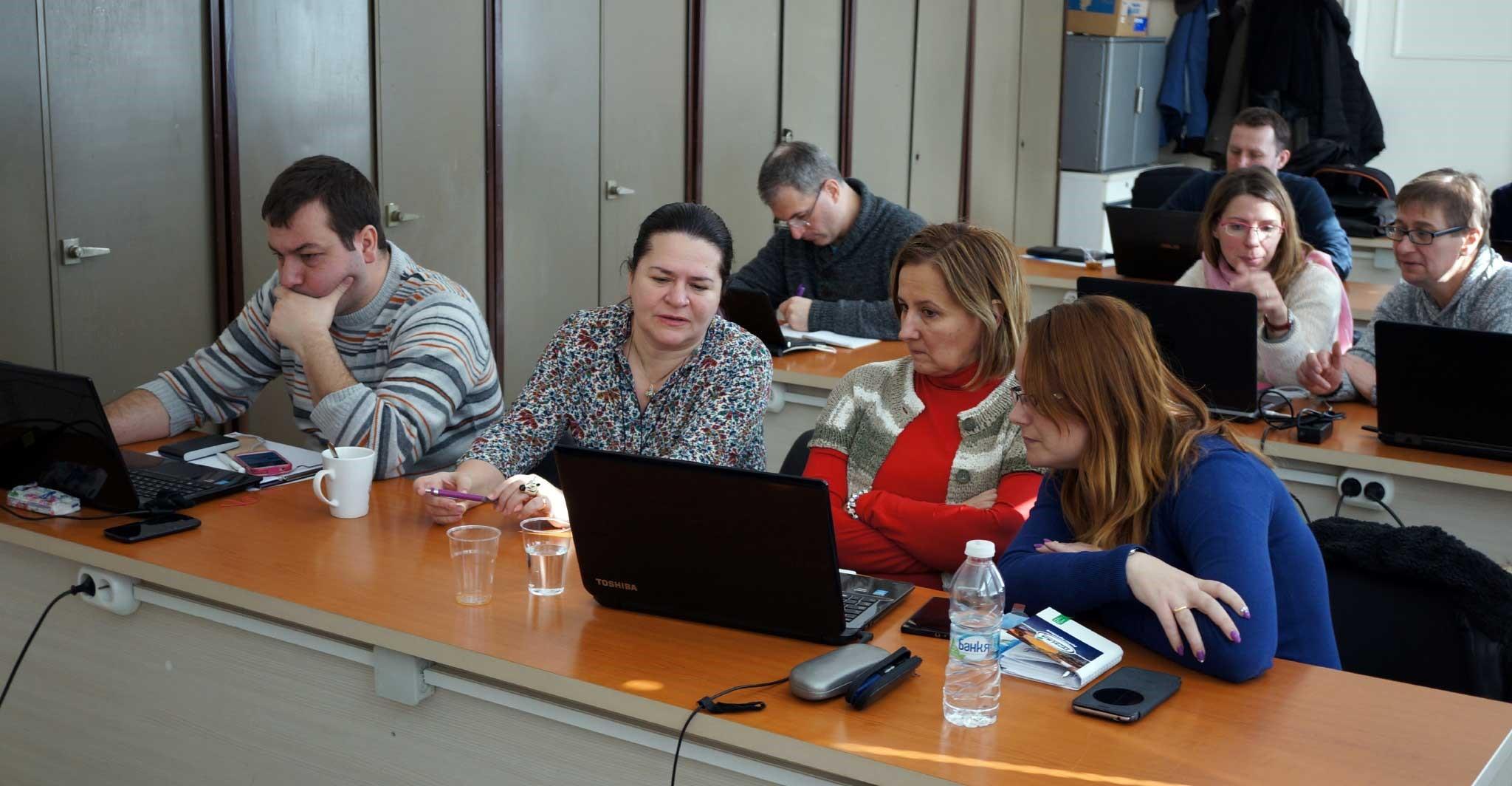 Séminaire de formation sur la plateforme de e-learning à Plovdiv