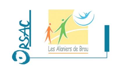 Logo Orsac les Alaniers de Brou